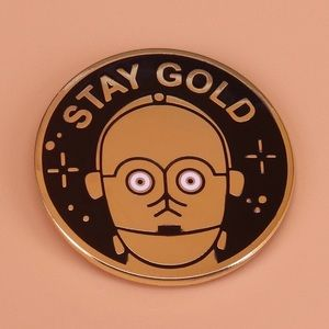 Jewelry - Gold Star Wars Enamel Pin